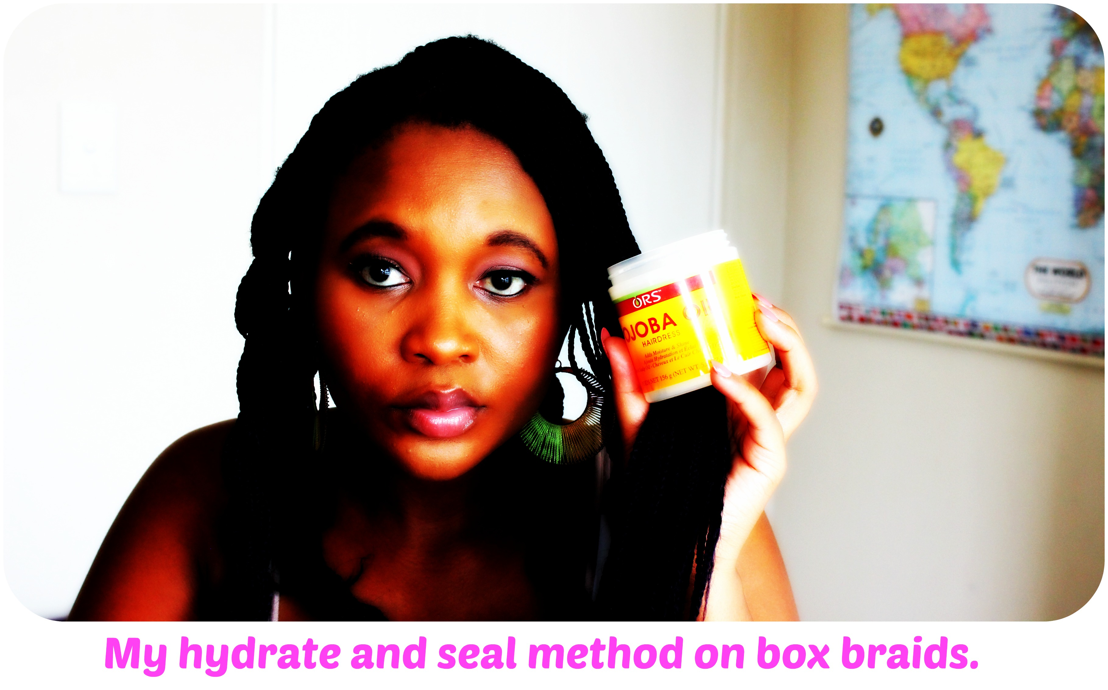 MY HYDRATE AND SEAL METHOD ON PROTECTIVE STYLES