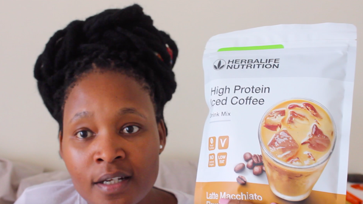 HOW I MAKE MY HERBALIFE HIGH PROTEIN ICED COFFEE
